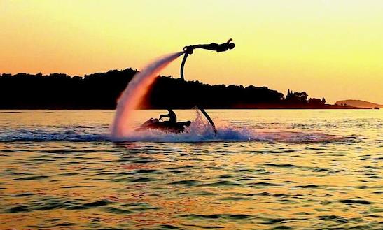 Enjoy Flyboarding In Dubrovnik, Croatia