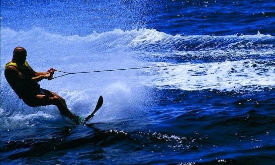 Enjoy Water Skiing In Split, Croatia