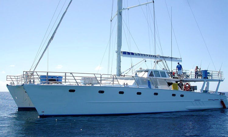 Charter on 70' Power Catamaran from Broome, Kimeberley