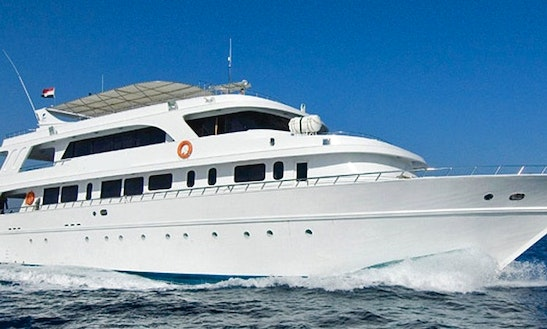 M/y Whirlwind Live Aboard Yacht In Red Sea