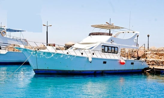 Charter Gannat Motor Yacht In Suez Governorate, Egypt
