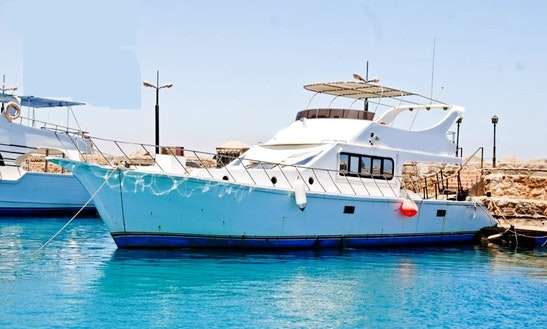 Charter Gannat Motor Yacht In Suez Governorate, Egypt