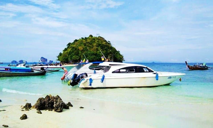 Explore Tambon Ao Nang & Phi Phi Islands in Thailand by Motor Yacht Charter