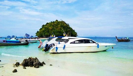 Explore Tambon Ao Nang & Phi Phi Islands In Thailand By Motor Yacht Charter