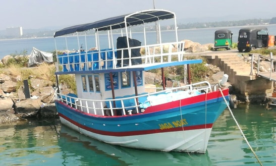 Charter A Passenger Boat In Mirissa, Sri Lanka
