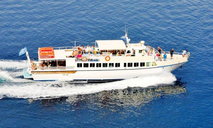 Charter 76' Passenger Boat in Kefallonia, Greece