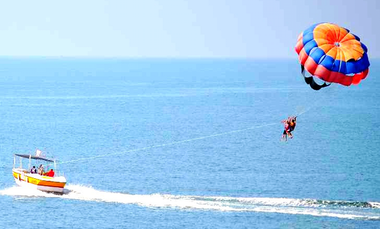 Fantastic Parasailing Experience In Malvan, Maharashtra