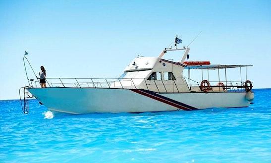 Charter A Motor Yacht In Zakinthos, Greece