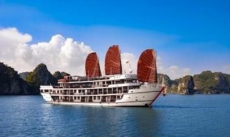 Amazing 2 Days Cruise on a Power Mega Yacht in Quốc Tử Giám, Vietnam
