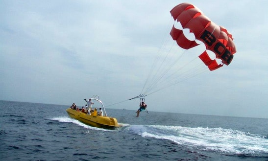 Parasailing Tour In South Sinai Governorate, Egypt