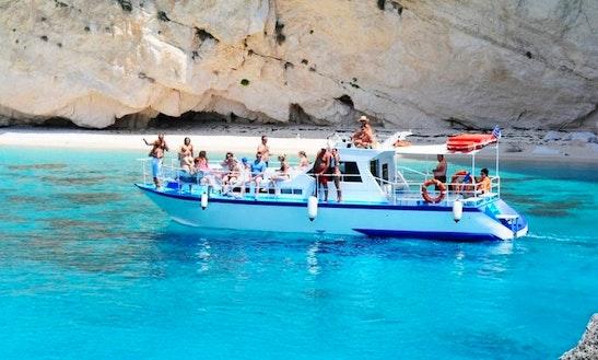 Charter Delfini Motor Yacht In Zakinthos, Greece
