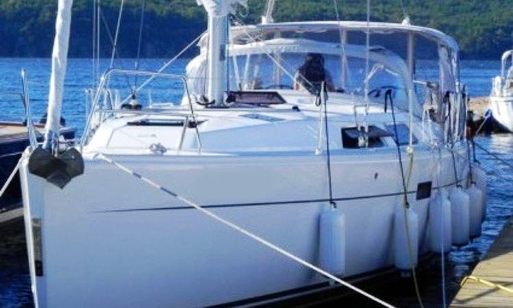 """Charter """"Simply Gifted"""" Hanse 400 Sailing Yacht in British Virgin Islands"""