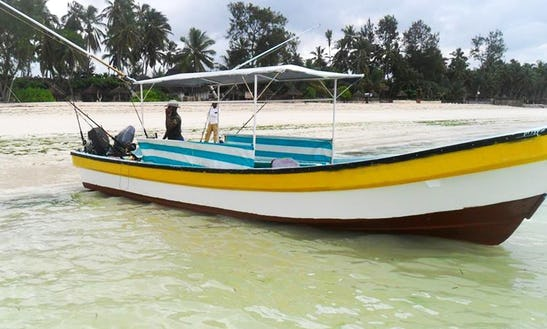 Zanzibar Fishing Trip Onboard A Twin-engine Fishing Boat!
