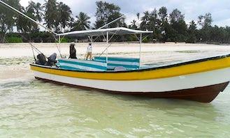 Zanzibar Fishing Trip onboard a twin-engine Fishing Boat!