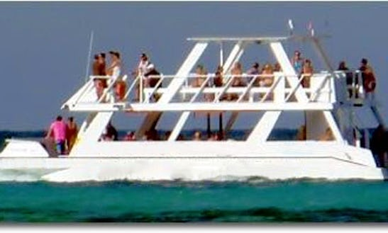 Charter A 60 Person Glass Bottom Boat In Watamu, Kenya