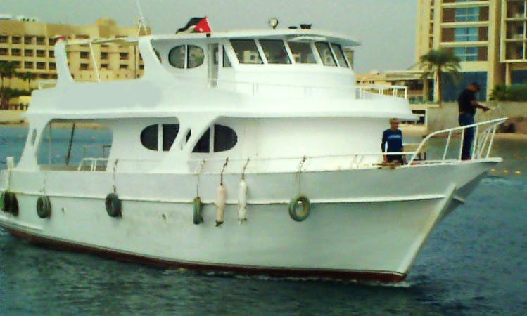 Boat Diving In Aqaba