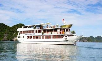 Charter a 25 Person Power Mega Yacht in Quốc Tử Giám, Vietnam