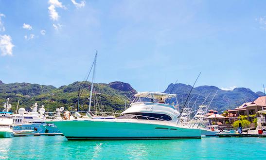 Charter 60' Riviera Power Mega Yacht In Cascade, Seychelles