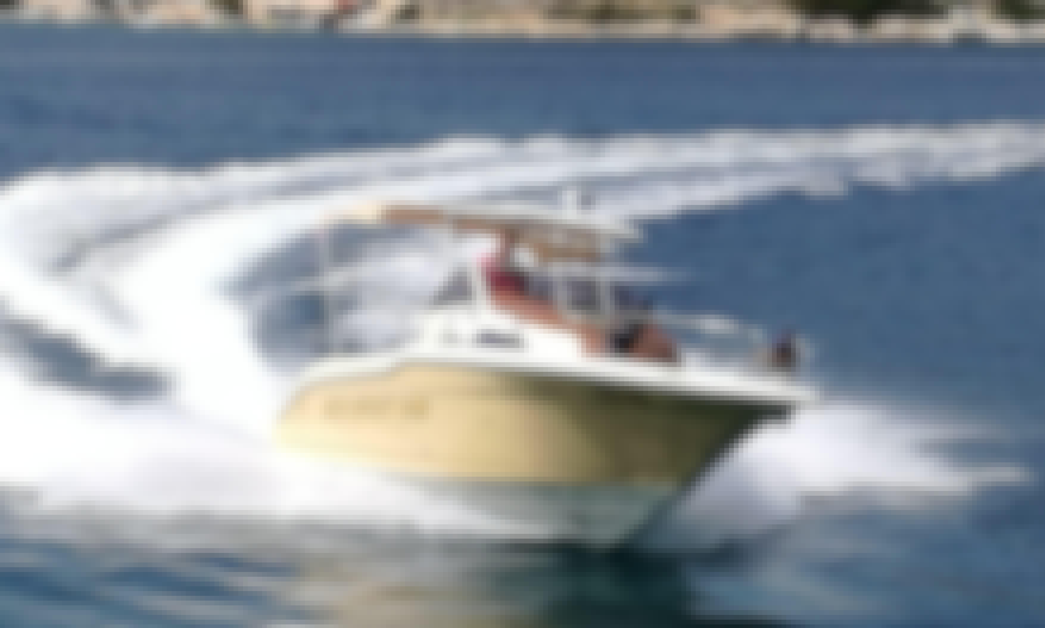 27' Sun Sport 845 Yacht Rental in Trogir, Split, Croatia