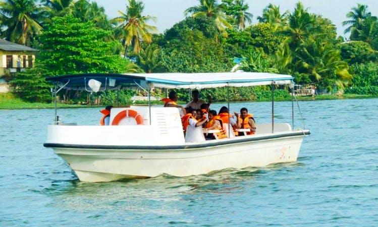 Rent a Passenger Boat on Kelany River in Peliyagoda, Western Province