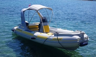 Hire the Baracuda 20 Rigid Inflatable Boat for 9 Person in Trogir, Croatia