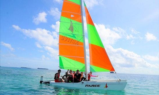 Rent A Beach Catamaran In Maafushi, Maldives