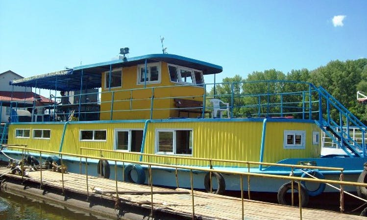 "Charter ""Mongoose"" Canal Boat In Samara, Russia"