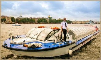 """Palmyra"" Passenger Boat Chart in Sankt-Peterburg"