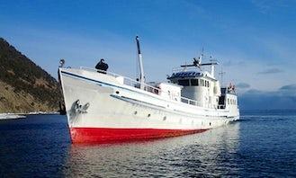 98' Yacht Charters in Lake Baikal, Russia