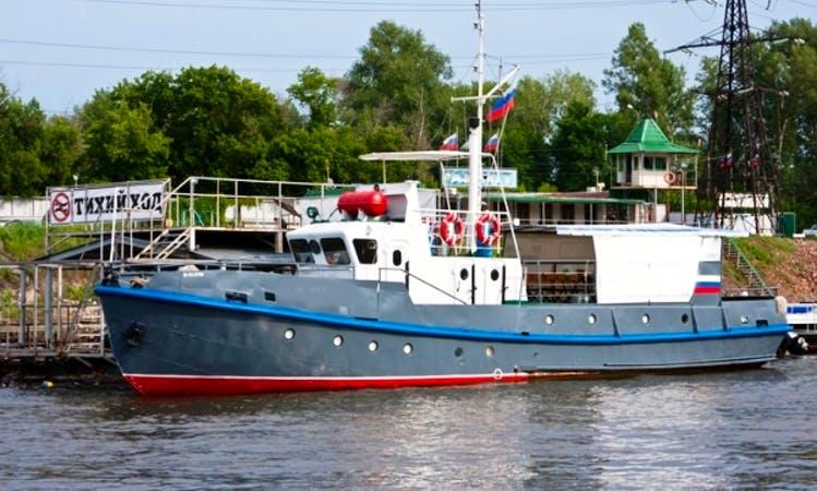 "Charter ""Nikolai Ehrlich"" Trawler In Samara, Russia"