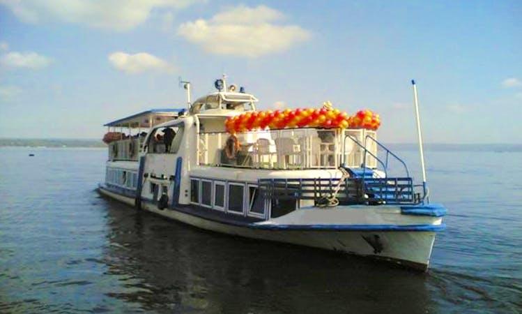 "Charter ""Natalie"" Passenger Boat In Samara, Russia"