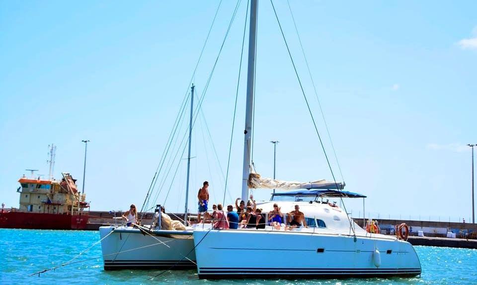 Charter a Cruising Catamaran in Santa Maria, Cape Verde