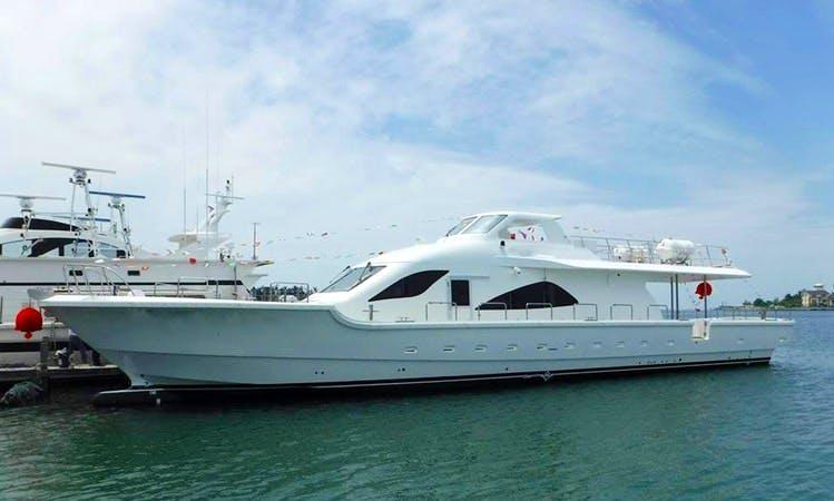 Charter a Jin Long Motor Yacht in Zhongshan District, Taiwan
