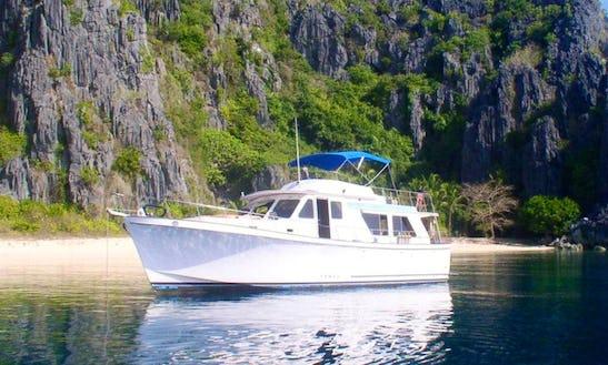 Dive Boat In Coron