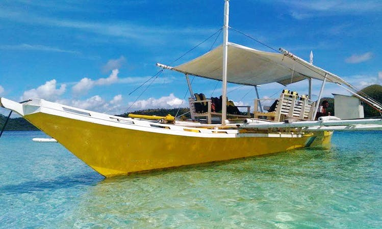 Book a Traditional Boat in Coron, Philippines for your next Island adventure