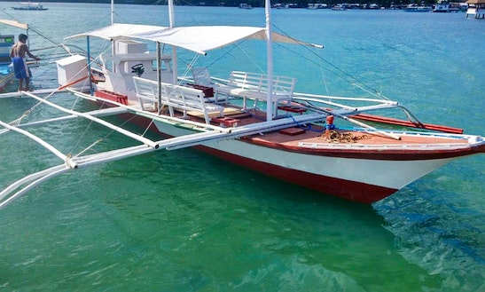 Diving Boat In Coron