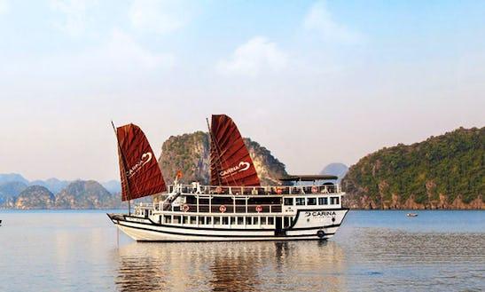 Charter Carina Power Mega Yacht In Halong Bay, Vietnam