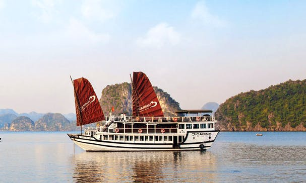 Charter Carina Power Mega Yacht in Halong bay, Vietnam