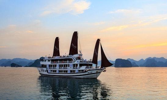 Charter Stellar Power Mega Yacht In Halong Bay, Vietnam