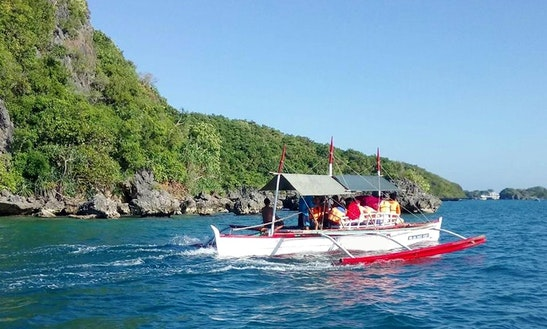 Charter A Traditional Boat Near In Hundred Island National Park