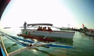 Charter a Honey War 5 Traditional Boat in Alaminos, Philippines
