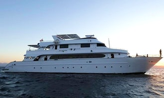 Charter 118' MV Nouran Power Mega Yacht in Red Sea Governorate, Egypt