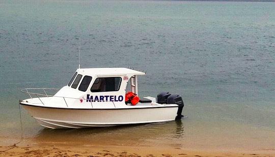 Enjoy Fishing In Maputo, Mozambique On Martelo Cuddy Cabin