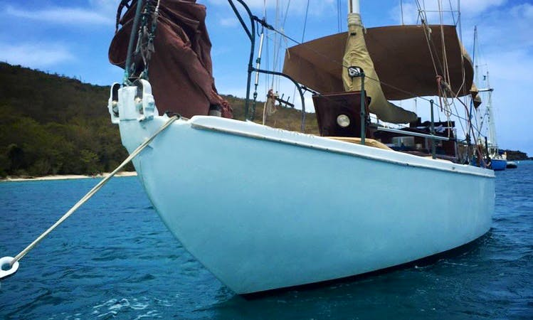 Cruising Monohull Charter In Charlotte Amalie West