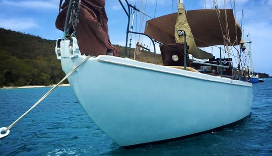 Cruising Monohull Charter In Charlotte Amalie West