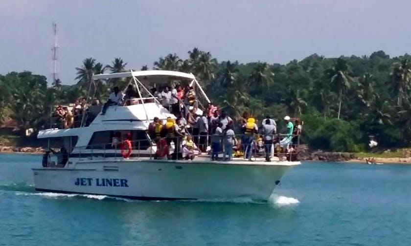 Charter Jet Liner Motor Yacht in Weligama, Sri Lanka