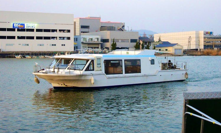 Lake Boat Tour in Japan