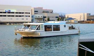Lake Boat Tour in Japan
