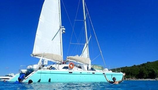 Cruising Catamaran Rental In St Thomas
