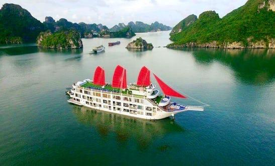 Explore Halong Bay On A Gulet In Thành Phố Hạ Long, Vietnam